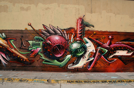 graffiti en mexico: