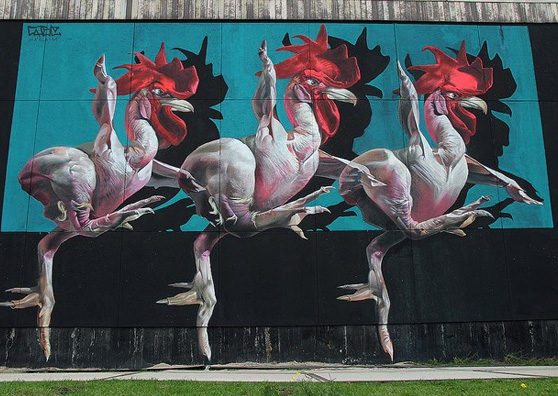 Case Maclaim Murals at Wynwood Walls Communicate Strong ...